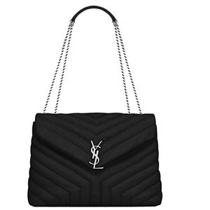 "Ysl LOULOU MEDIUM IN MATELASSÉ ""Y"" LEATHER"